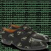Oxford Schuhe Ricky 9 Crock Suede Black Gold