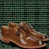 Derby Schuhe Betty 2 Nougat Tassel Dark Brown