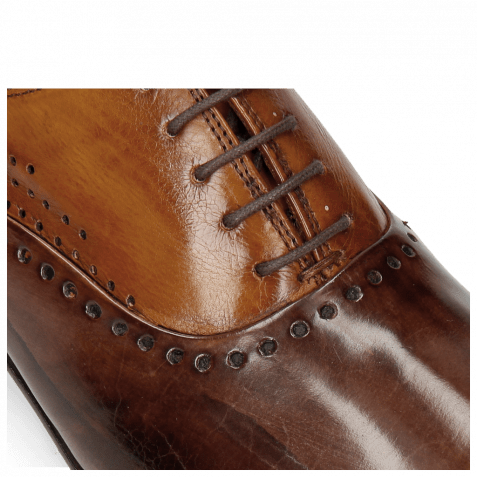 Oxford Schuhe Lewis 41 Mogano Tan LS Thin Brown