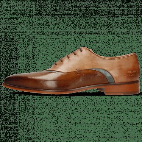 Oxford Schuhe Lance 44 Nougat Wind Make Up