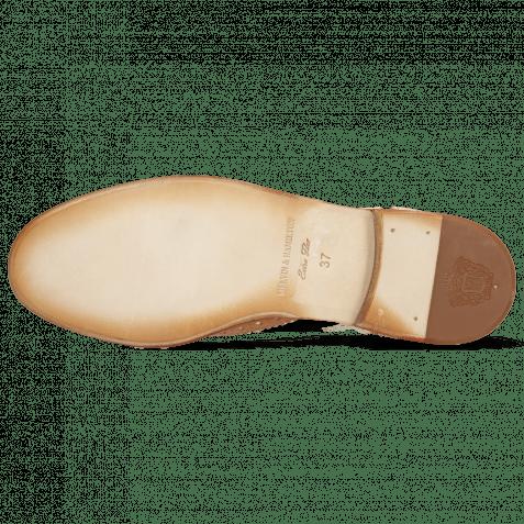 Oxford Schuhe Amelie 10 Vegas Light Rose White Pale Rose Skin