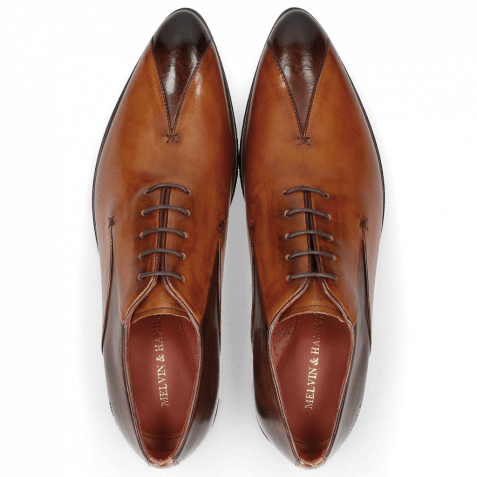 Oxford Schuhe Toni 31 Mogano Tan LS Red
