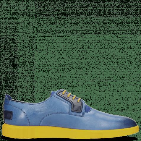 Sneakers Newton 1 Franky Electric Blue Lycra