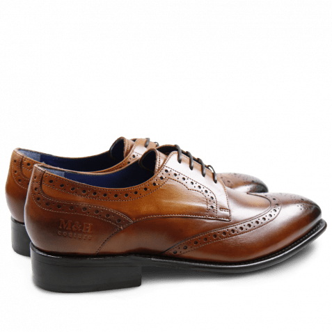 Derby Schuhe Charles 2 Crust Wood LS
