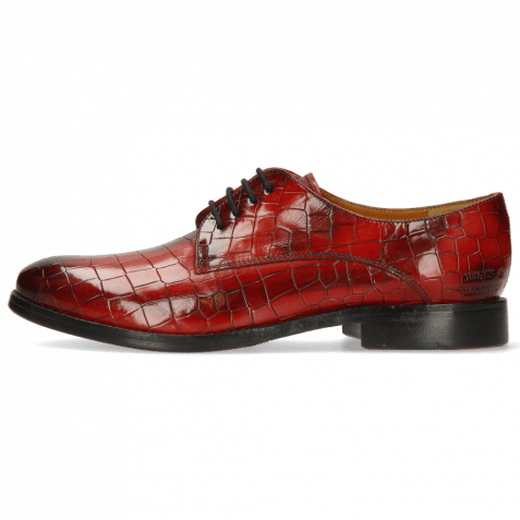 Derby Schuhe Amelie 14 Crock Ruby Flex