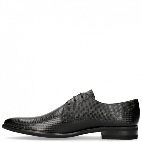 Derby Schuhe Toni 1 Dice Black Modica Black