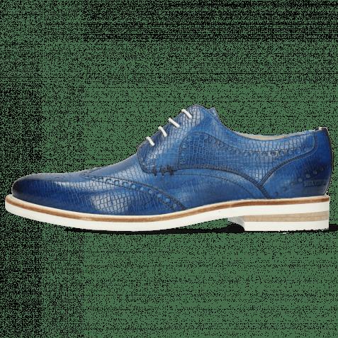 Derby Schuhe Scott 2 Vegas Skink Mid Blue