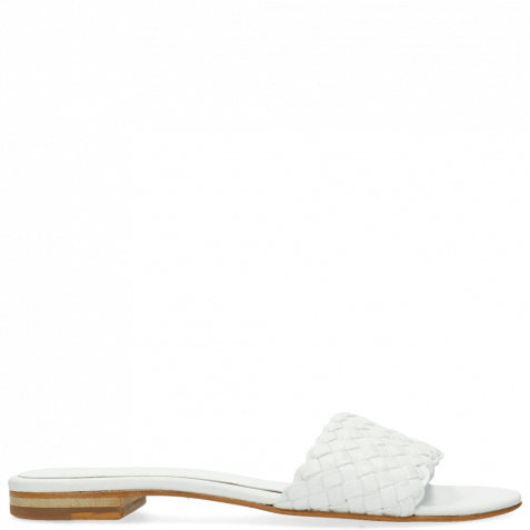 Pantoletten Hanna 26 Woven White