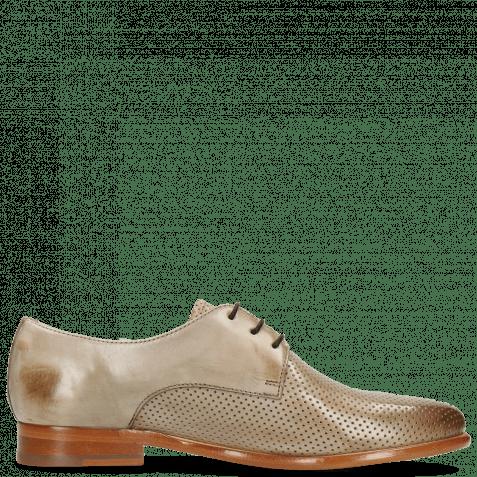 Derby Schuhe Selina 23 Perfo Digital