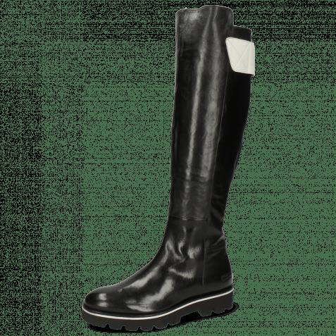 Stiefel Sally 150 Imola Black Strap Flex White