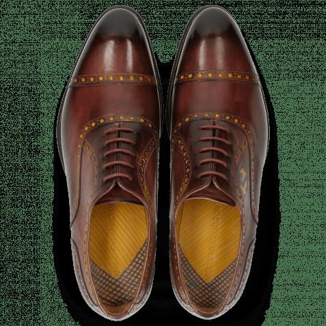 Oxford Schuhe Lionel 1 Burgundy