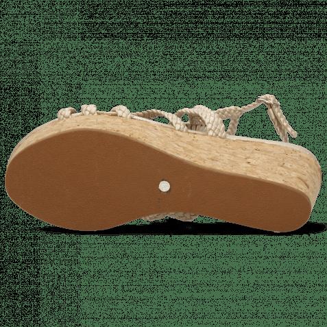 Sandalen Hanna 58  Woven Pearl Cork
