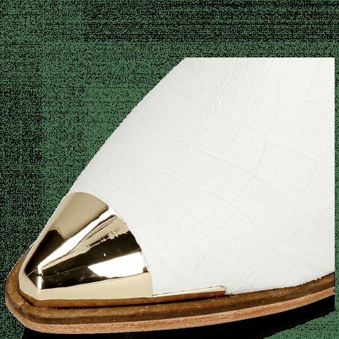 Stiefeletten May 1 Nappa White Toe Cap