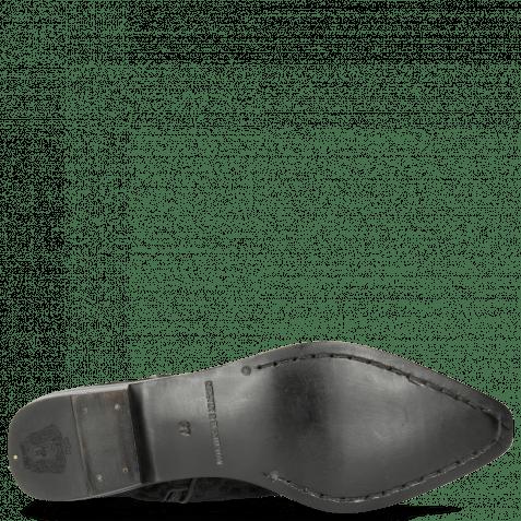 Stiefeletten Marlin 31 Leo Glitter Black Binding Nappa Black