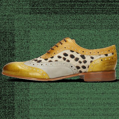 Oxford Schuhe Sally 97 Vegas Olivine Digital Sand Hairon Wildcat