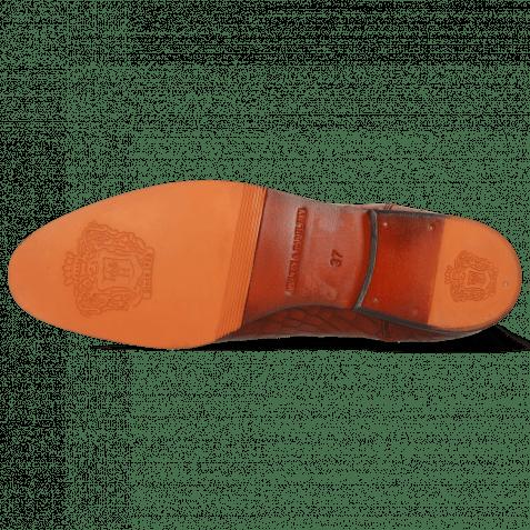 Stiefeletten Susan 10 Crock Orange Elastic Dark Brown