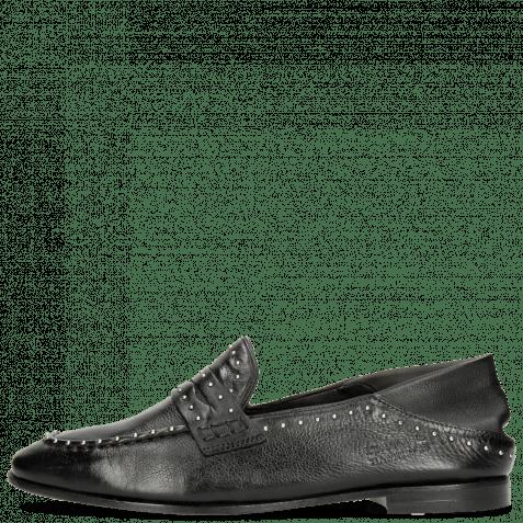 Loafers Scarlett 42 Pavia Black Nappa Glove