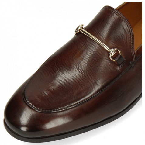 Loafers Scarlett 22 Pisa Mid Brown Trim Gold
