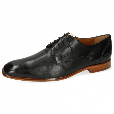 Derby Schuhe Elyas 4 Imola Black Patch