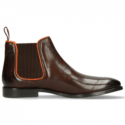 Stiefeletten Amelie 4 Pisa Mid Brown Orange