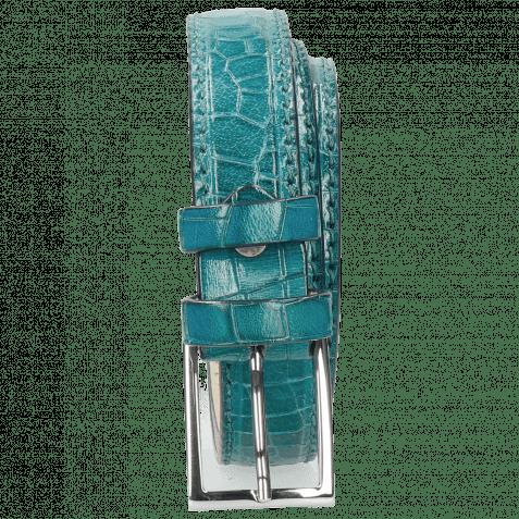 Gürtel Linda 1 Crock Turquoise Classic Buckle