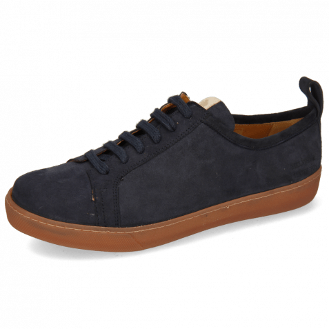 Sneakers Amber 1 Suede Reflex Blue Patch