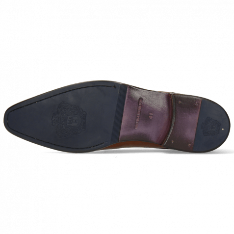 Monk Schuhe Lance 1 Wood Lining Purple