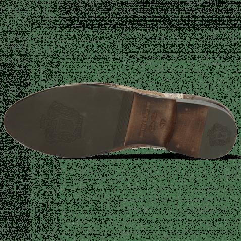 Oxford Schuhe Selina 56 Imola Mink Tortora Chestnut Textile