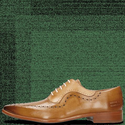 Oxford Schuhe Oskar 35 Sand Nude Lining Rich Tan Flex