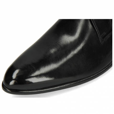 Derby Schuhe Toni 1 Black Lining Red