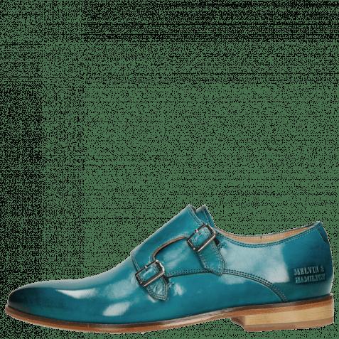 Monk Schuhe Jessy 7 Crust Turquoise LS