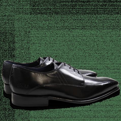 Derby Schuhe Stanley 1 Crust Black LS