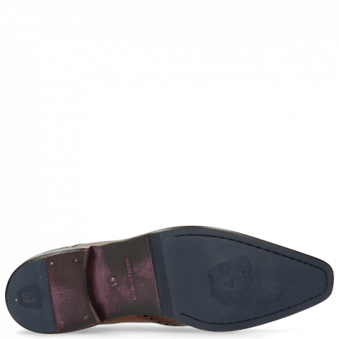 Derby Schuhe Lance 2 Tan Lining Purple