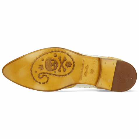 Oxford Schuhe Keira 10 Imola Turtle Sun White Cedro Ocra