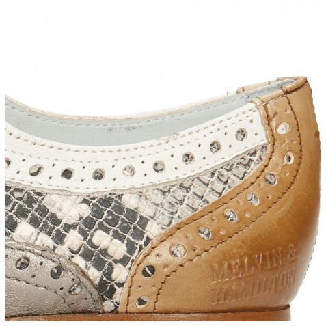 Oxford Schuhe Sonia 1 Vegas Make Up Talca Pewter