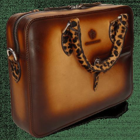 Handtaschen Vancouver Sand Shade Wood Hairon Leo