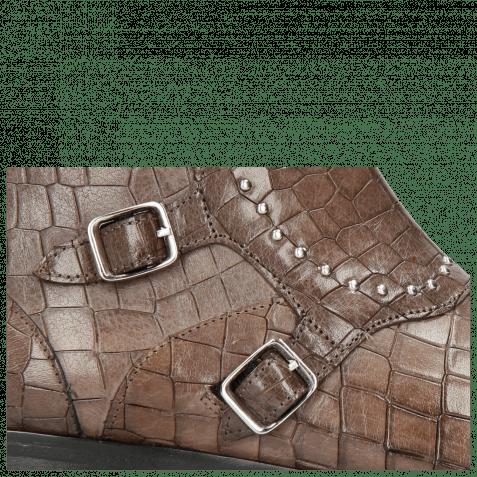Stiefeletten Susan 45 Crock Stone