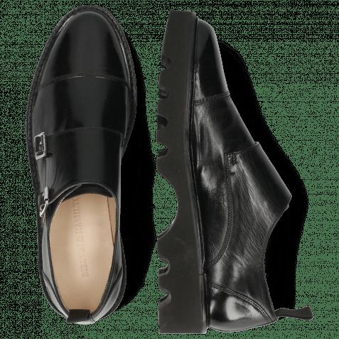 Monk Schuhe Selina 53 Imola Black Lining