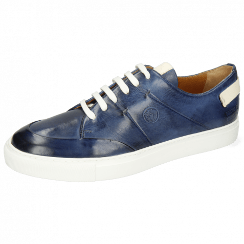 Sneakers Harvey 15 Vegas Navy Patches White