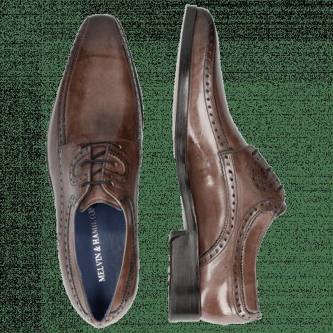 Derby Schuhe Lewis 28 Crust Stone LS