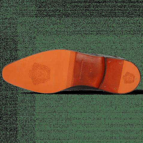 Derby Schuhe Lewis 3 Imola Black Lining Rich Tan