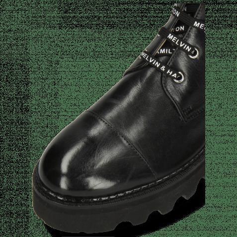 Stiefel Sybill 11 Monza Black Nappa Glove Black