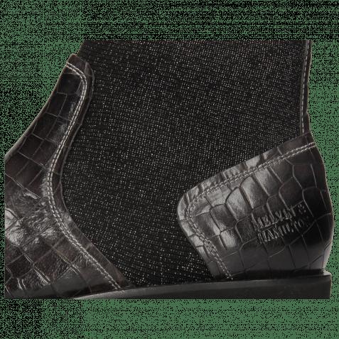 Stiefeletten Sally 157 Crock London Fog Textile Stafy Black