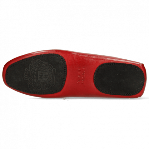 Loafers Home Donna Imola Rio Red Socks Sherling