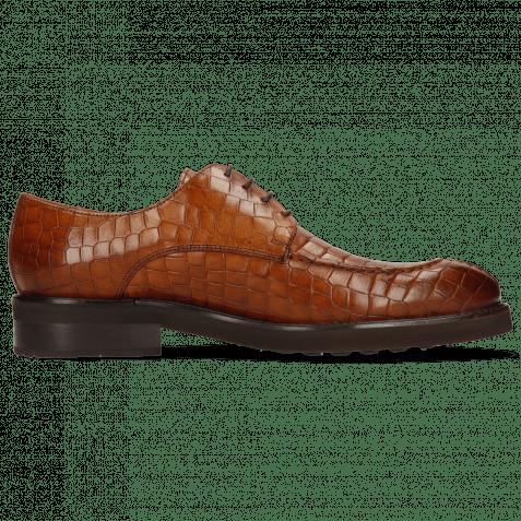 Derby Schuhe Parker 1 Crock Wood Genevra