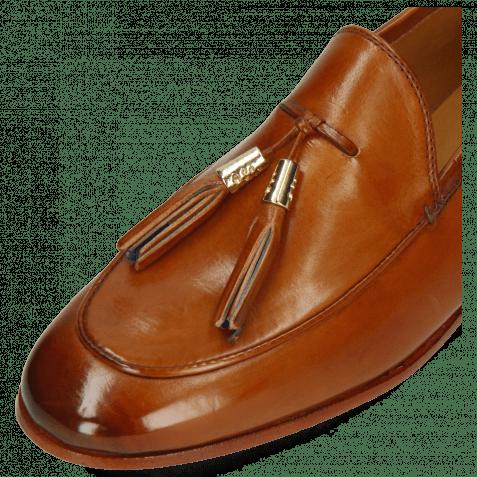 Loafers Scarlett 3 Pavia Tan Tassel