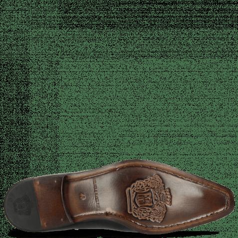 Oxford Schuhe Lewis 42 Black LS Thin Black