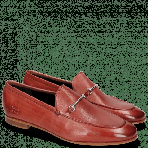 Loafers Scarlett 1 Pavia Ruby Slim Trim