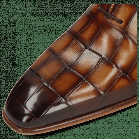 Oxford Schuhe Lance 60 Turtle Sand Hairon Tanzania