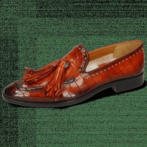Loafers Emma 11 Crock Orange Shade Tassel